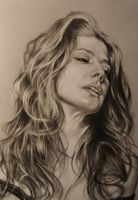 Marisa Tomei detail by MrEyeCandy66