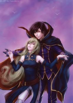 Code Geass by e-soulu