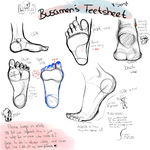 Feetsheet   {Simple} by Busamen