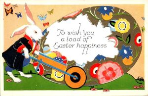 To Wish You a Load of Easter Happiness by Yesterdays-Paper