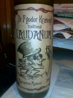 Laudanum bottle label 2 by Dr-Fyodor-Krasniy