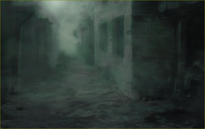 Dark Street (backround for Gilfors Tales game) by Full2D