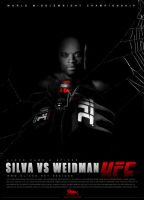 Ufc 162 Anderson Silva Spider by olieng