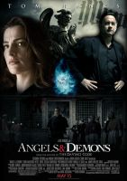 Angels and Demons Poster by Alecx8