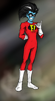Freakazoid - Nationwide Freak by sinDRAWS