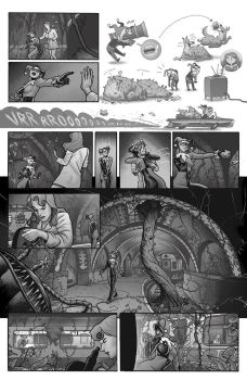 Batman: Black and White, p. 4 by quin-ones