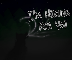Howling For You Valentine by MysticalWhisper