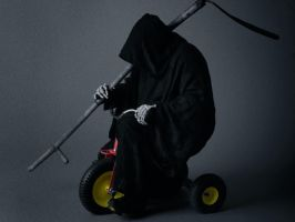 Death Rides A Pale Trike wp by waste84