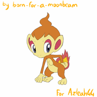 Point Commish - Chimchar Animation by Ardate