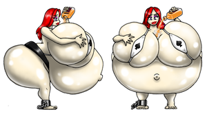 Sumo Inflated Girls Nahla by kecomaster
