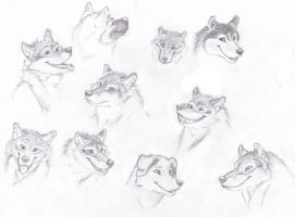 Sketches 1 by Magnum-K9