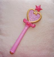 Sailor Chibimoon stick by KawaiiStorm