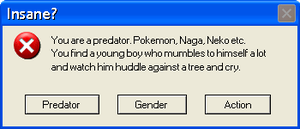 Error Message. Vore, Pokemon, Predator. by Robertruler77