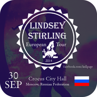 Lindsey Stirling 30-09 Crocus City Hall - Moscow by MrArinn