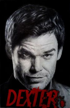 Dexter Morgan by Damyanov
