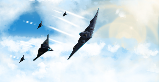 Patrolling The Skies by EmperorMyric