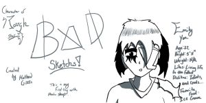 Bad Sketchs Photoshop CS3 by ToastsaoT