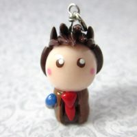 10th Doctor chibi by TrenoNights