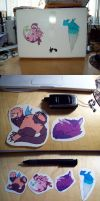 Stickers for sale wee by Reveta