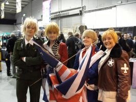 Midlands Expo England's and America's by BattyTea
