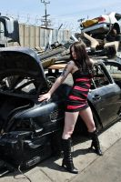 Junkyard Queen 1 by Mistress-Zelda