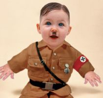 The baby Hitler by klarissimus