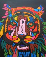 Abstract Tiger by The-Tiger-Thief