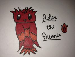 My Epic Critters~Asher the Pheonix by ScenePika