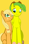 Applejack And Her Lover by Coolterra342