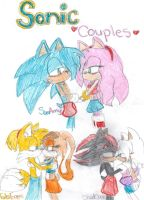 Sonic couples by CristinaTheHegehog