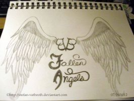 BVB Fallen Angels Hand Drawn View 1 by Gothic-Rebel