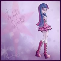 Twilight Sparkle - girl by nyankath
