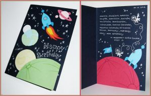 birthday card: ponies in space by n-th-green