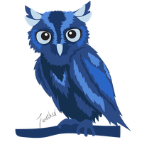 Owl by Seraphic-a
