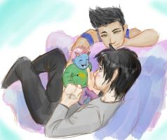 Malec Baby by MagnusRayne