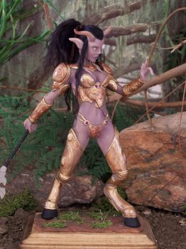 WoW World of Warcraft Draenei by spectrestudios