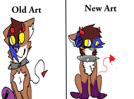 Art improvement! by Graffiti-Toxin