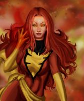 Dark Phoenix by jesschan