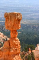 Famous Stone in Bryce Canyon by Dr-J-Zoidberg