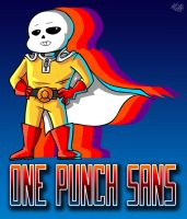One Punch Sans! by TheRogueDeity
