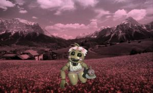 Toy Chica the Flower Girl by Purple-Lemon06