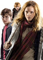 Harry Potter 7s' Trio HQ PNG by ReligioArt