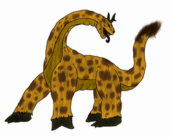 MM's World: Girafrica by The-Great-MM