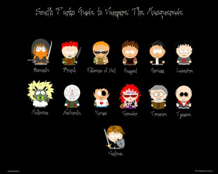 South Park Guide to Vampire by walkingstranger