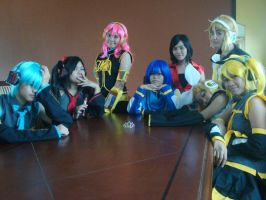 Vocaloid Family by ProjectProgram