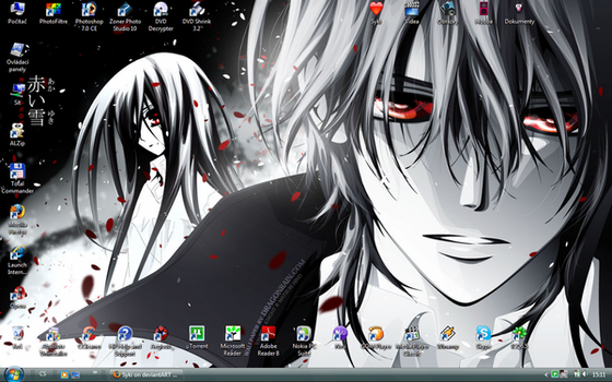Desktop VIII - Vampire Knight by Syki