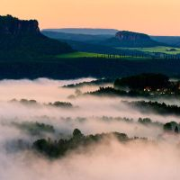 Morning Fog by Matthias-Haker
