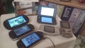 New 3DS XL and the Portable Console Friends by RJAce1014