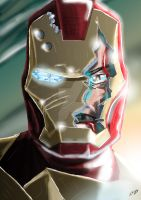 Iron Man - Fallen Hero by KickStartDesigns