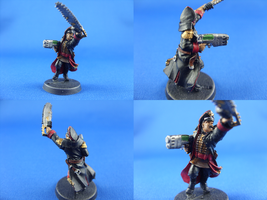 Commissar Florian Rae by madhouse-exe